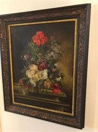 Original oil on canvas, Signed.  In a great frame!