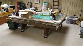 Vintage Fischer pool table