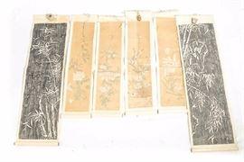 5Lot of Six 6 Chinese Scrolls