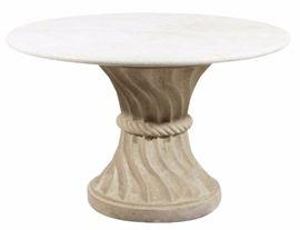 8Designer Cast Stone Garden Table