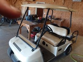 Club car golf cart , electric, with charger