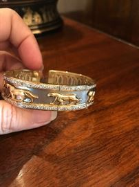 All jewelry reviewed and detailed by Jewelry Appraiser: 18K GOLD AND 3.0 CT OF DIAMONDS. $4,500