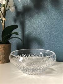 Araglin bowl by Waterford. Signed. $65
