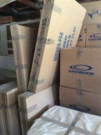 Over 1000 moving boxes to unpack