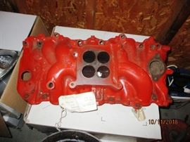 large block Chevy Holly 4 bbl intake for 396 - 427