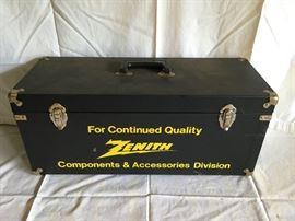 Vintage Zenith Component/Parts Case