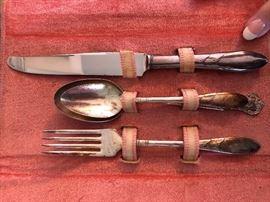 vintage serving set