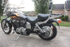2001 Honda Shadow Spirit 750, 26K miles $1600.