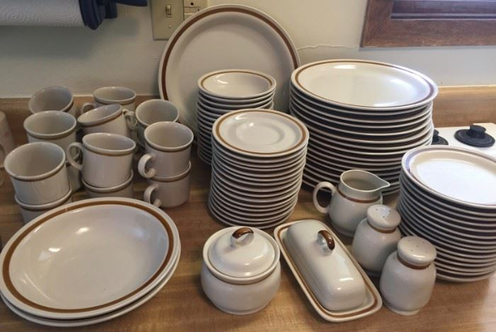 Mountain Wood Dishes
