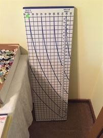 Sewing Pattern Cutting Board