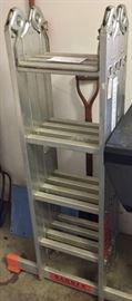 Folding Scaffolding Ladder
