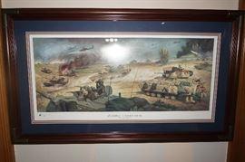 Crossing The Wadi Al Batin by Samson Pollen
