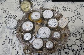 Old pocket watches.