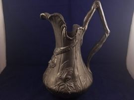 RAK049 KayserZinn Art Nouveau Pitcher https://ctbids.com/#!/description/share/51623