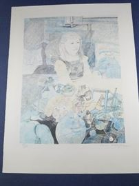 RAK052 Anton Toni Krajnc Colored Lithograph https://ctbids.com/#!/description/share/51626
