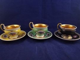 MOP057 Three Bavarian Tea Cups https://ctbids.com/#!/description/share/51651