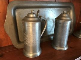 Vintage Pewter Pieces
