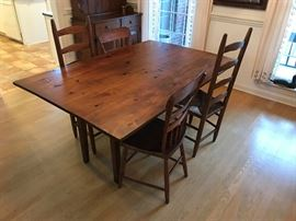 Antique Table - $ 160.00