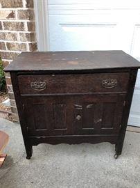 Antique Craftsman chest