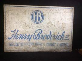 Henry Broderick Vintage