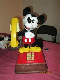 Mickey Mouse phone circa 70's