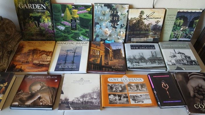 Lots of Books... Local, History, Gardens, etc...