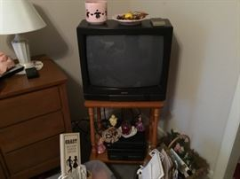Another TV and stand