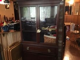 Small china cabinet - good condition