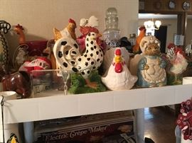 We have chickens & roosters in all sizes, shapes, and kinds!
