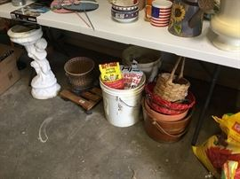 Garage items
