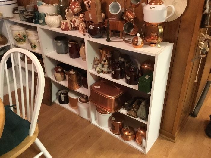 Copper and crocks