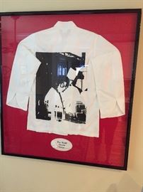 Chef jacket - framed - Tom Coohill -