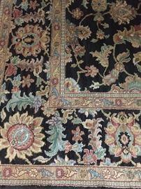 "Karastan rug: 8' 8"" x 10' 6"""