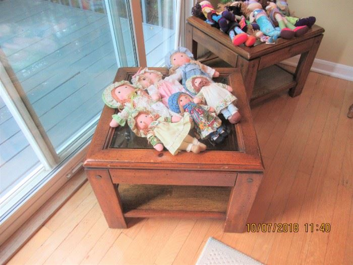 tables and vintage dolle