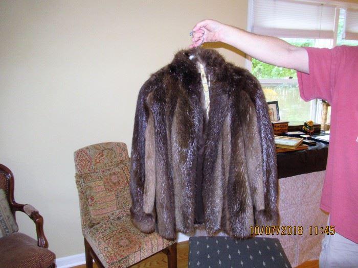 ladies mink jacket