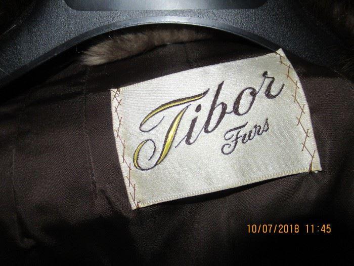 Vintage ladies Tibor Fur jacket