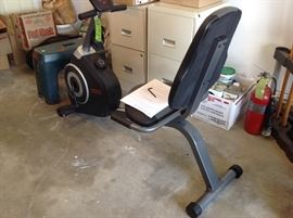Clean exercise bike