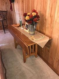 DROP LEAF SOFA TABLE