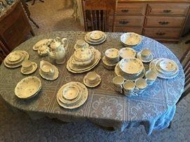 83 pieces of haviland china