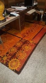 Fabulous Larger Mid Century Shag Carpet