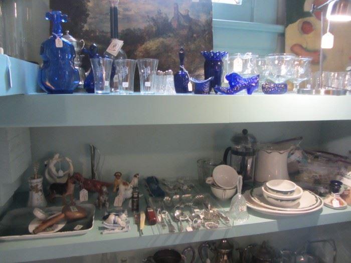 Royal Doulton Figurines, Glassware
