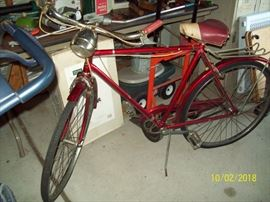 Royal Scot Men's 3-Speed Bike, All Original. Made in England