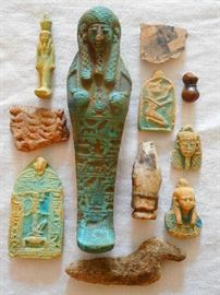 EGYPTIAN RELICS & AMULETS