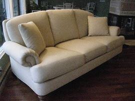 Ethan Allen sofa with nailhead trim