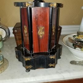 antique cigar box