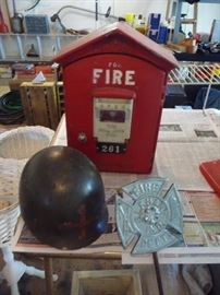 other fireman items (there is more