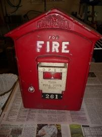 real fire box