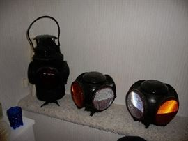 railroad lanterns (there is more