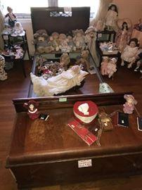 Twin Bed, Dolls, Cedar Chest