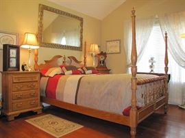 Keller Solid Oak Bedroom Set